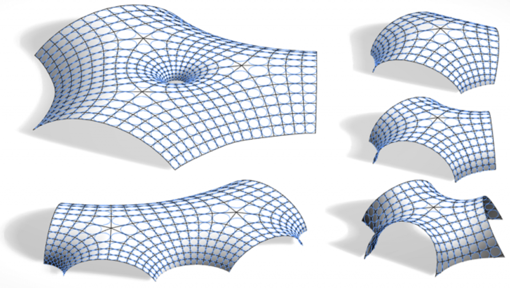 Discrete constant mean curvature surfaces with planar faces and offset properties